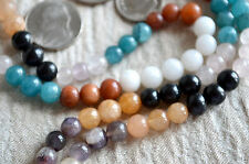 8mm 9 Planets Navratan Chakra Prayer Beads Chakra Nirvana Mala Beads Necklace
