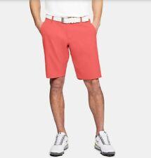 New Men's Under Armour UA shorts 1309548-872 Flat Front Showdown Golf MSRP $70