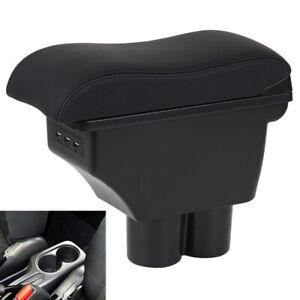 Dual Layer Armrest Box For Suzuki Jimny 2000-2017 Central Storage Interior 3 USB