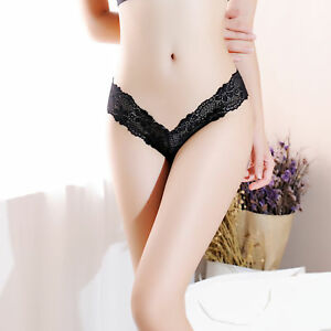 Womens Seamless Lace Lingerie Underwear Thongs G-string Panties Sexy Travel