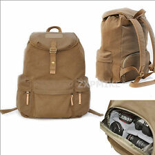 F5 Waterproof Canvas Backpack Rucksack  Bag For Nikon D3100 D3200 D5100 D5200
