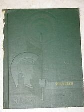 THE TRAVELER 1955 Annual Elementary School Yearbook Pixley CA