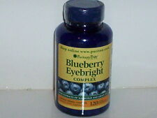 BLUEBERRY EYEBRIGHT COMPLEX MARIGOLD GRAPESEED 3600MG VISION SUPPLEMENT 120 CAPS