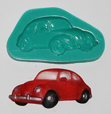 Sugarcraft Cake Decoration VW Beetle Car Cake Topper Mould Silicone Mold (3126)