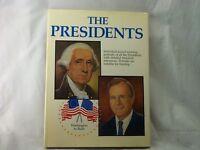 THE PRESIDENTS HARDCOVER: PRESIDENT GEORGE WASHINGTON TO PRES:GEORGE H.W. BUSH