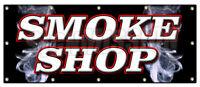 SMOKE SHOP BANNER SIGN cigar cigarrettes shop hookah pipes