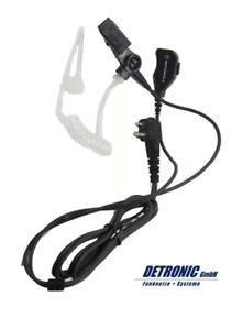 Motorola PMLN6530A Headset mit Schallschlauch für CP040 DP1400 XTNi XT420 460