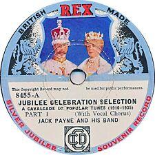 Jack Payne Band  - Silver Jubilee Record Sonderlabel - 1935