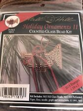Mill Hill Holiday Ornament Counted Glass Bead Kit Trumpet 1991 Brand New