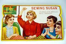 Vintage Sewing Susan Pack of Needles