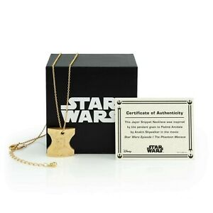 Star Wars Japor Snippet Necklace   Collectible Jewelry Pendant