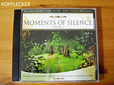 CD Moments Of Silence, Volume 3, Music To Relax And Dream, CD Album
