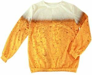 ★  Pils Bier Sweater, Kostüm Herren ,Damen S-XXL Pulli Unisex Langarm Shirt