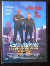 DVD LOS RECAUDADORES - C.VAN DIEN, RICK FOX - COMO NUEVA (4N)