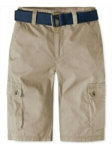 Levi's Boys Westwood Cotton Cargo Beige Shorts - 20 REG W30 - NWT - MSRP$42.00