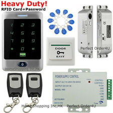 Waterproof Rfid Card +Password Access Control System+Electric Bolt Lock+2Remotes