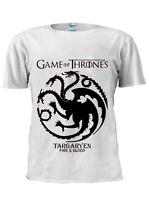 Game OF Thrones T-Shirt Targaryen Khaleesi Dragon Men Women Unisex Tshirt M201