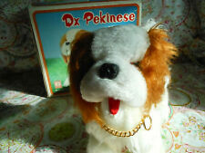 Vintage Battery Operated Dx Pekinese Dog, Hong DA Taiwan