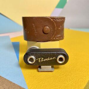 BODAN SHOE MOUNT RANGEFINDER With Original Case Lomo, Vintage Accessory
