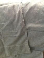 Ralph Lauren Blue Chambray Standard Pillowcase Set of Two,GUC