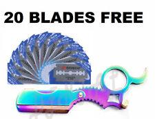 Professional Knife Razor Barber Salon Straight Cut Throat Shaving StainlessSteel
