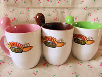 TV Series Friends Central Perk Mug Coffee Cup with Spoon Handel Ceramics Mug