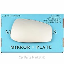 Right hand Driver side for Volvo v70 00-03 wing mirror glass
