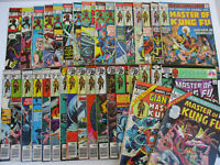 Master of Kung Fu Marvel Comics Martial Arts Superhero Bronze Age Lot