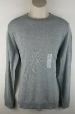 NWT Old Navy Men's Crewneck Pullover Sweater Sz Large Gray Cotton Blend