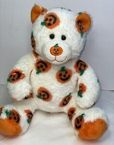 Build A Bear PAWSOME PUMPKIN Teddy Bear Limited Edition Plush Halloween 2006