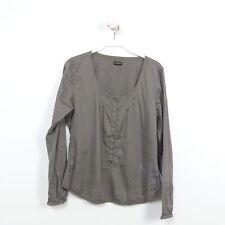 NAPAPIJRI Bluse Tunika Damen Grau-Braun Gr. 38 M