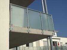 ESG 8mm Sicherheitsglas klar, Glaswände, Glastüren, Geländer, Duschen, Tische,