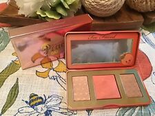 Too Faced Sweet Peach Glow Highlighter Palette New in Box Authentic 🍑