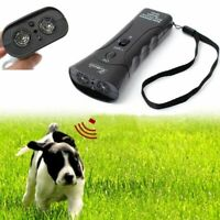 Ultrasonic Dog Chaser Stop Aggressive Animal Attacks Pet Trainer Anti Barking