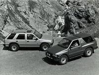 Opel Frontera Pressefoto 1993 21,5x16,5 cm press photo Auto PKWs Autofoto Foto