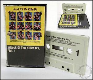 Attack of the Killer B's Vol. 1 1980's Vintage Punk Rock B-Side Cassette Tape