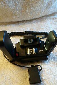Nikon SK-6 Power Bracket Flash Handle w/Nikon AS-16