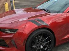 "Camaro 4"" Fender Hash Mark Stripe Stripes PAIR Sport Universal"