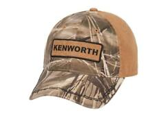 Kenworth Motors Trucks Realtree MAX-4 Camouflage Barbed Wire Brown Camo Hat/Cap