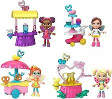 🚛Free Shipping! {NEW} Butterbean's Cafe Fairy Friends Figure 4 Pack