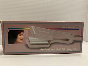 Vintage Vidal Sassoon 1987 Womens Hair Crimping Crimper Iron VS-142 Tested