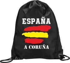 BACKPACK BAG A CORUÑA SPAIN GYM HANDBAG FLAG SPORT