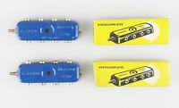 MÄRKLIN 7069 Verteilerplatte, blau, 2 Stück, OVP