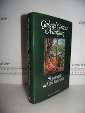 LIBRO Gabriel Garcia Marquez IL GENERALE NEL SUO LABIRINTO 1^ed.1989☺