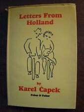 LETTERS FROM HOLLAND KAREL CAPEK 1965