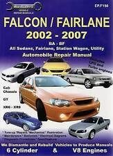Ford Falcon BA-BF Automotive Repair Manual. by Ellery Publications (Paperback, 2008)