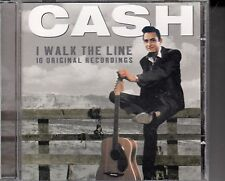 "CD ALBUM  JOHNNY CASH  ""I WALK THE LINE"""
