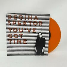 "Regina Spektor - You've Got Time Vinyl Record 7"" Orange Color Variant"