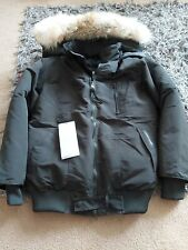 Canada goose jacket Medium/large black detachable hood and coyote fur