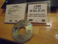 RARE PROMO J-Shin CD My Soul, My Life sampler r&b TRICK DADDY Trina XSCAPE rap